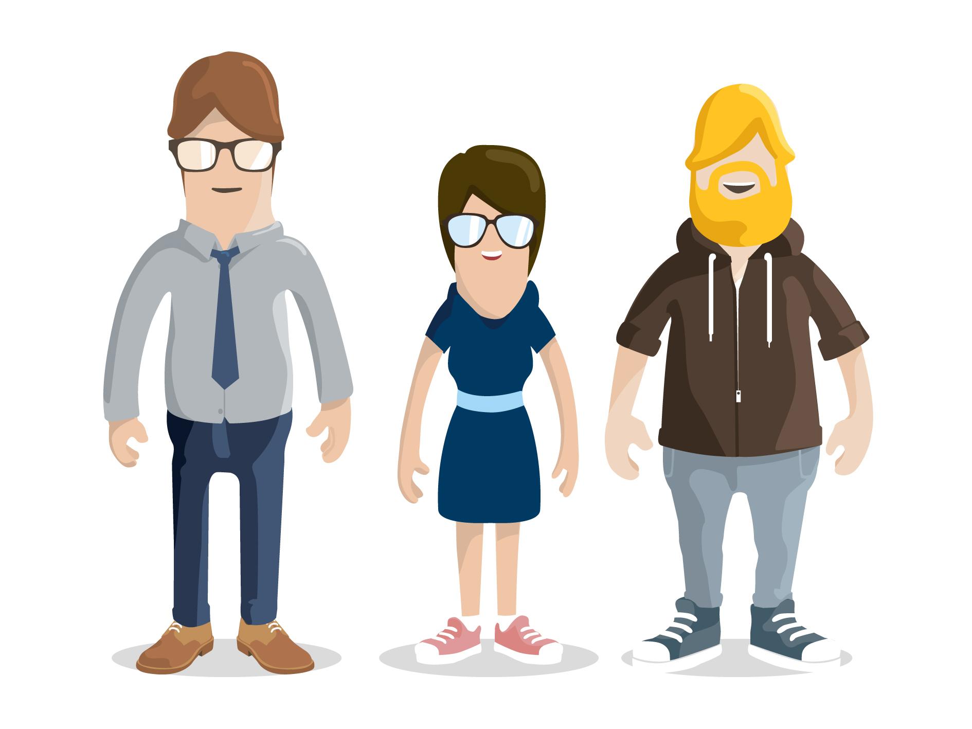 character design polyester studio polyester studio